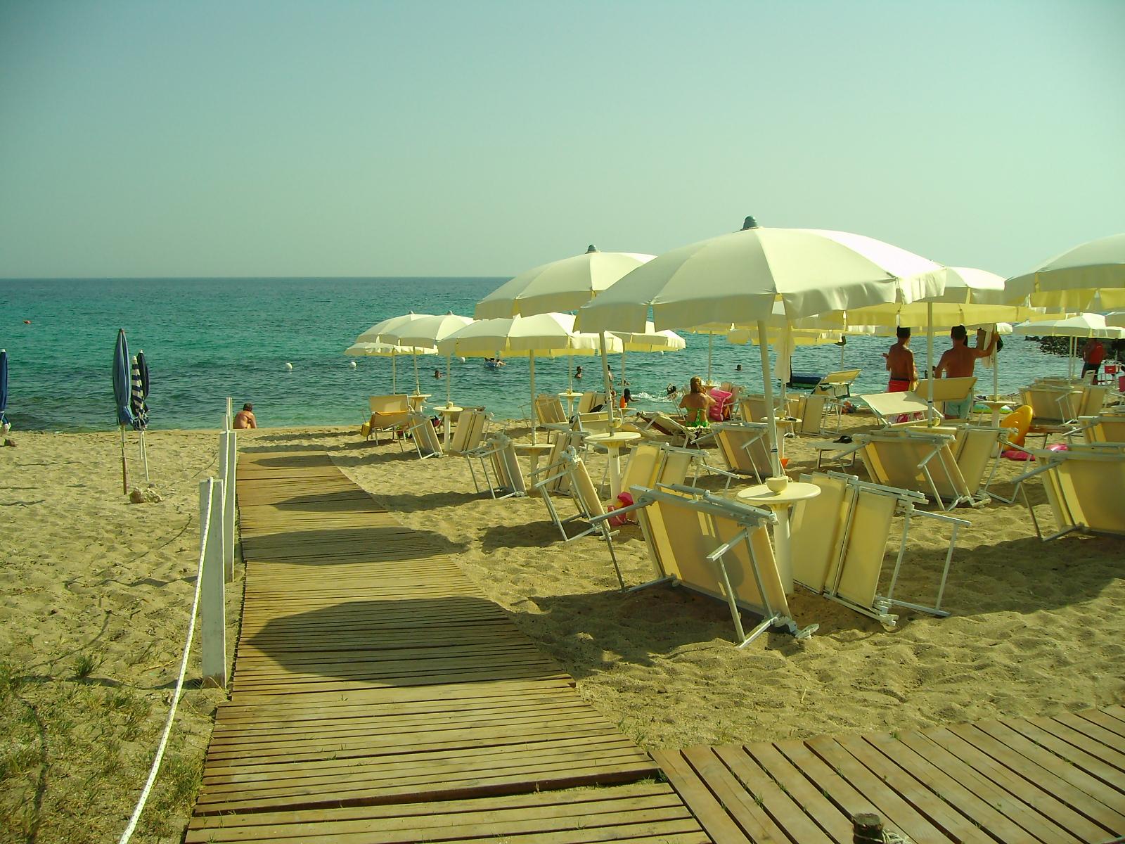 Tratto di Spiaggia del Lido Attrezzato La Spiaggetta Porto cesareo,Lecce