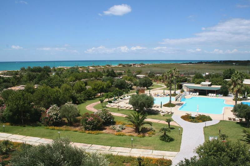 Panoramica Villaggio Hotel La Giurlita Torre Mozza, Lecce