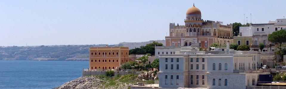 veduta di Santa Cesarea Terme (Puglia)