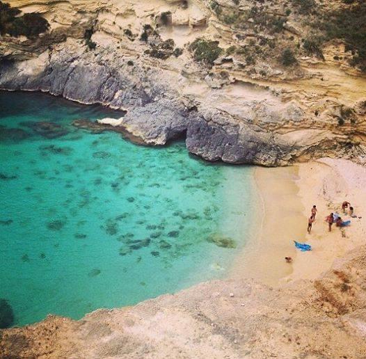 le incantevoli scogliere di Santa Cesarea sulla costa adriatica di Puglia