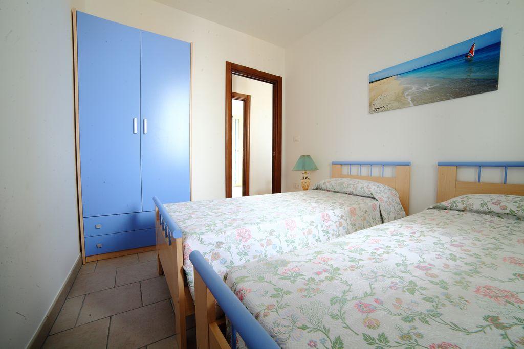 Camera doppia appartamento  Residence Rivamare Resort