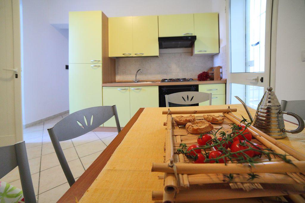 Cucina appartamento Residence Rivamare Garden