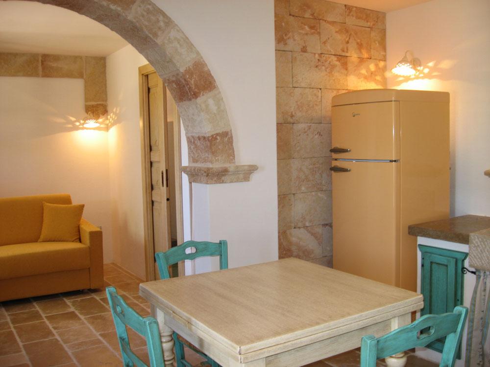 Angolo cottura e divano letto Pajara Il Carrubo Tricase, Lecce