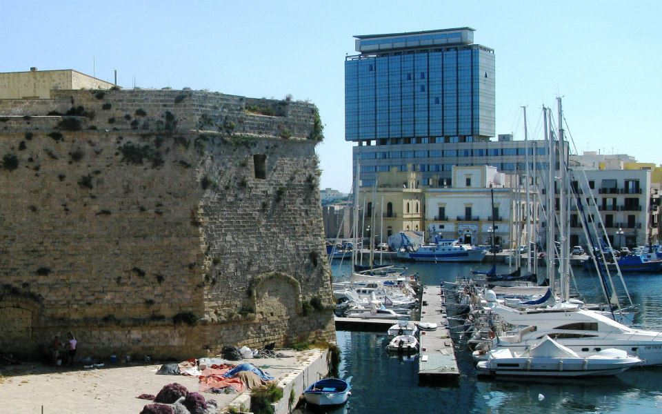 splendida vista dal Grattacielo Residence Bellavista a Gallipoli (Puglia)