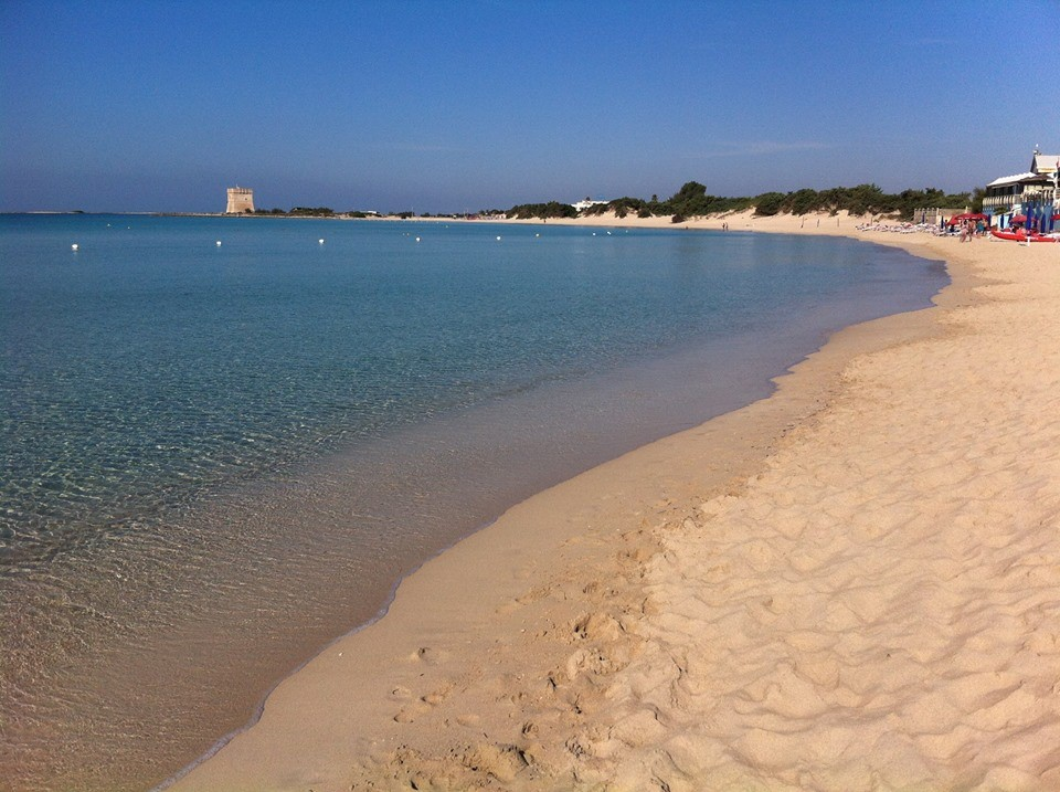mare e spiaggia di Porto Cesareo (Salento)