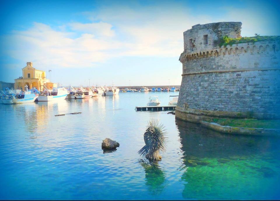 Vista dal ponte del Centro storico di Gallipoli, Lecce