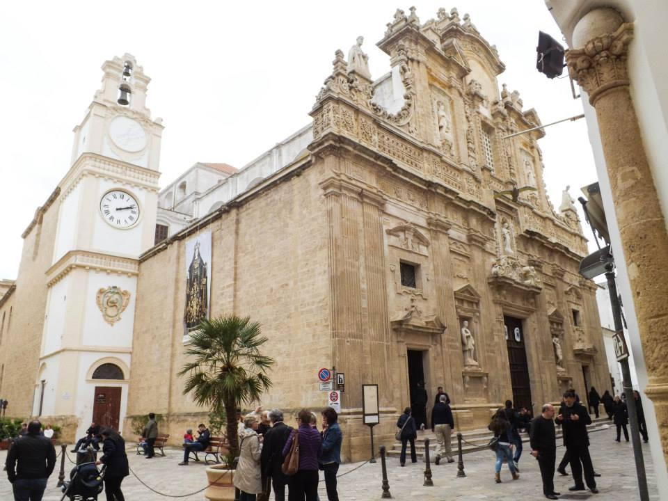 Monumenti del centro storico di Gallipoli (Lecce)