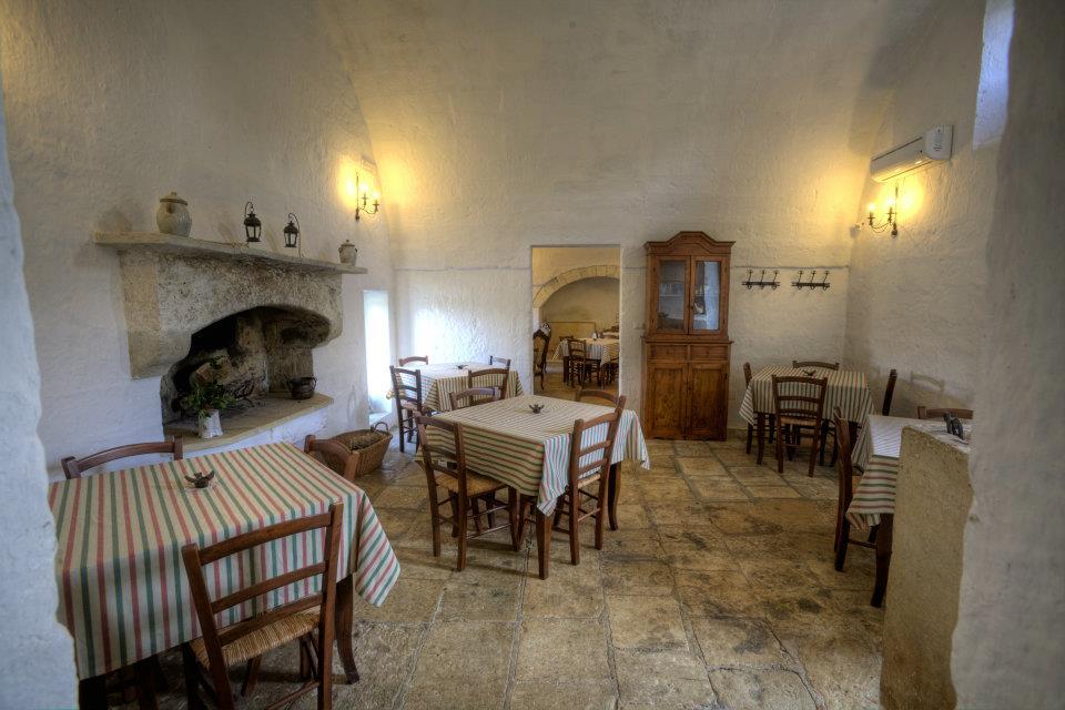 ristorante in masseria a Muro leccese vicino a Otranto