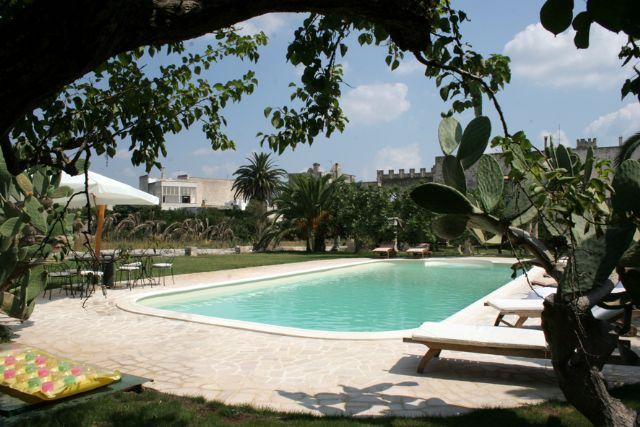 piscina B&B Palazzo Vecchio, Marittima, Castro, Lecce