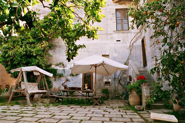 giardino B&B Palazzo Vecchio, Marittima, Castro, Lecce