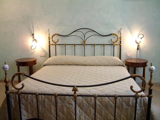 camera matrimoniale Relais Excelsa Lido conchiglie Gallipoli, Lecce