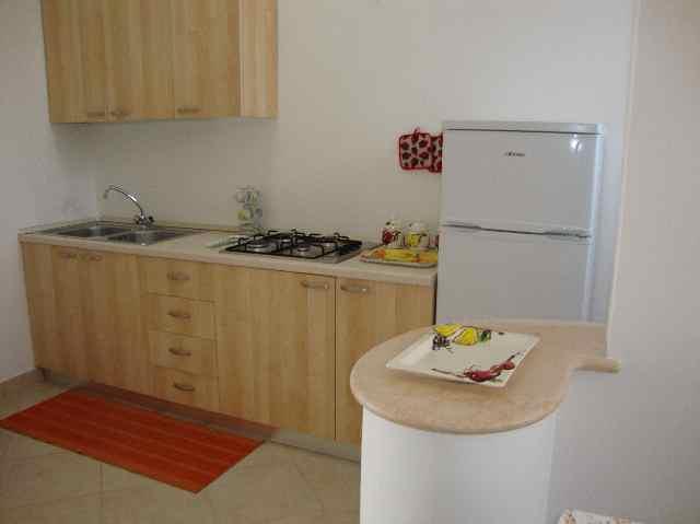 cucina appartamento soleluna Santa Caterina, Lecce