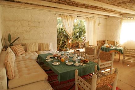 Sala Colazione Masseria Li Foggi Gallipoli, Lecce