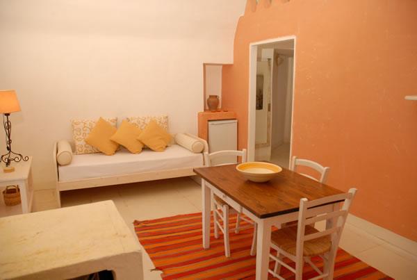 Soggiorno appartamento comfort Masseria Li Foggi, Gallipoli, Lecce