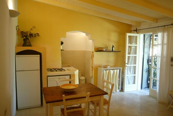 Angolo cottura appartamento Deluxe Masseria Li Foggi, Gallipoli, Lecce