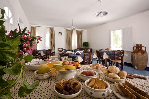 sala colazione Tenuta De Marco Lido Marini, Ugento, Lecce