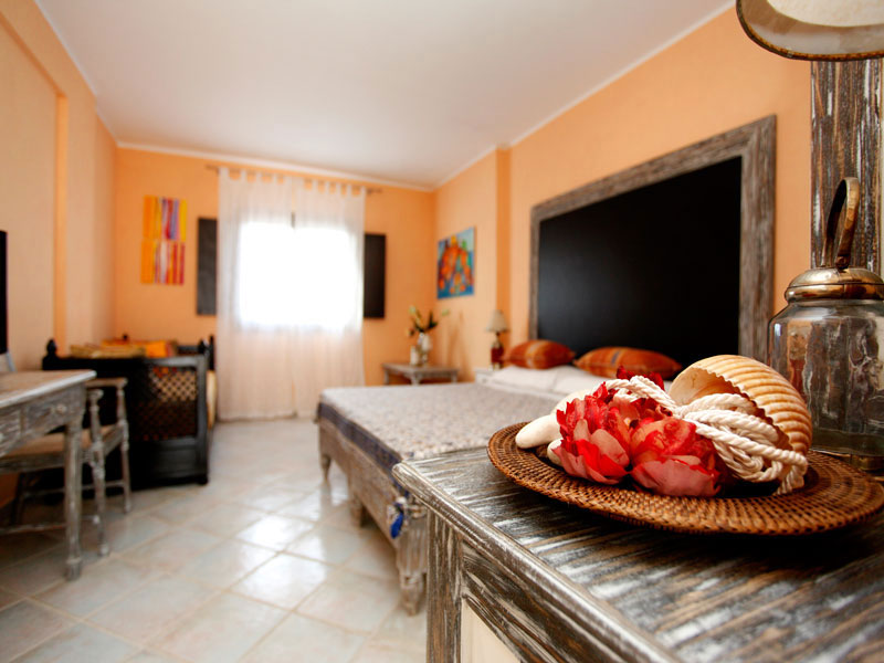 Camera da letto Chiusurelle Resort Torre Lapillo, Lecce
