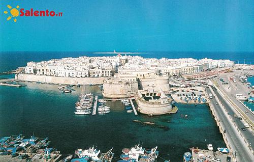La città  vecchia dall'alto Gallipoli, Lecce