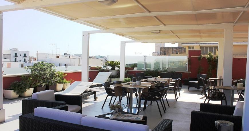 terrazza panoramica hotel 33 baroni gallipoli