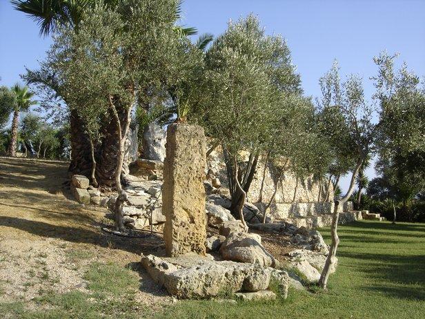parco del Resort Shadak Torre Lapillo (Puglia)