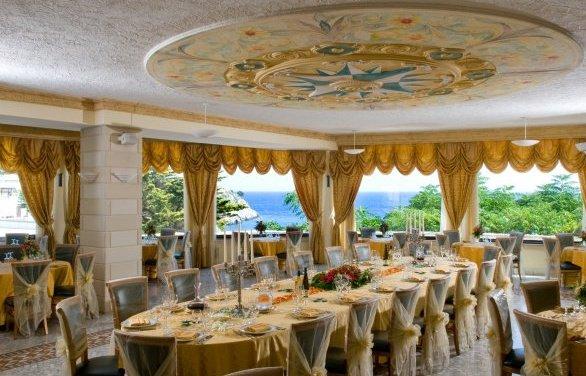 Sala ricevimenti Hotel Panoramico Castro