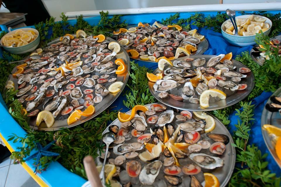 Frutti di mare ristrante Hotel Panoramico Castro