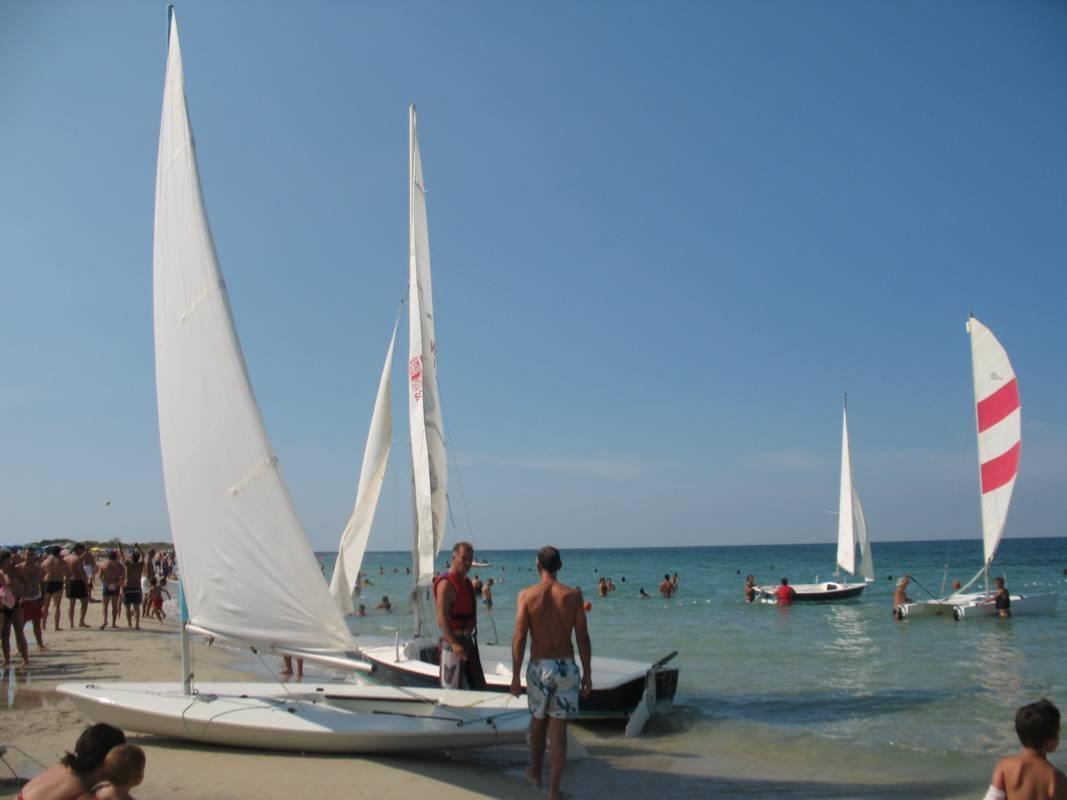 Wind Surf e Kite Surf al Lido Buenaventura, Litoranea adriatica, Lecce