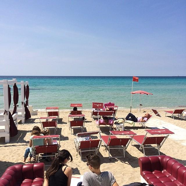 rilassarsi in vacanza a Baia Verde di Gallipoli