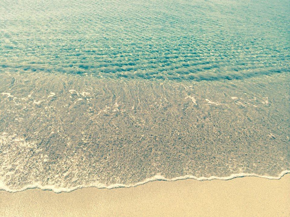 mare limpido a Baia Verde di Gallipoli
