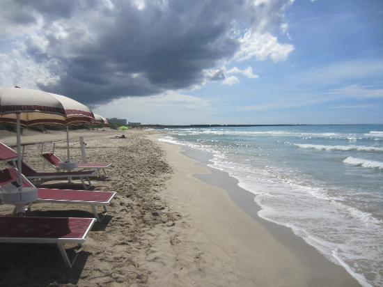 rilassarsi al sole di Lido San Giovanni a Gallipoli