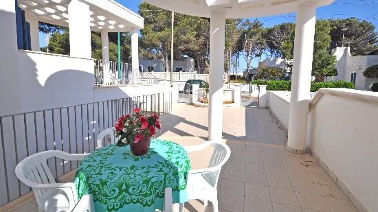 Veranda Attrezzata residence mahia Torre Suda, Lecce
