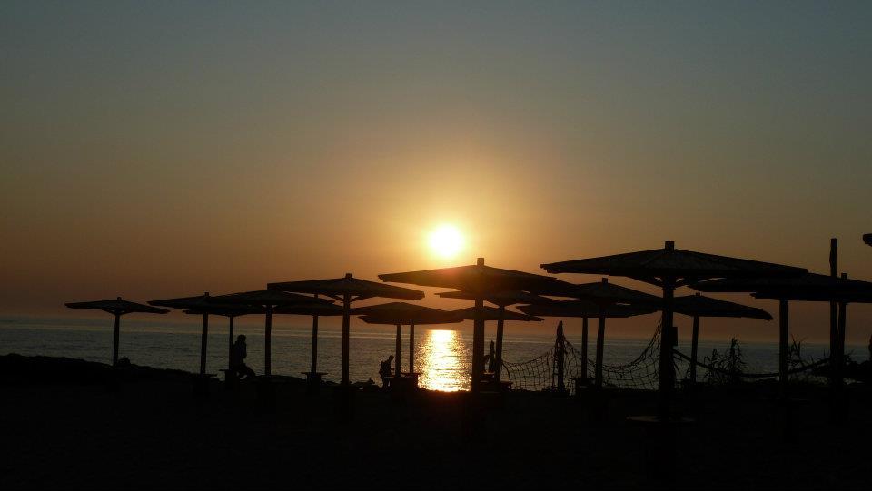 splendidi Tramonti a Mancaversa in località Punta Pizzo (Salento)