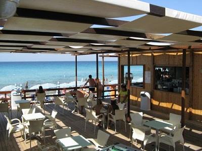 Bar sulla spiaggia residenze Lido di Gallipoli, lido San Giovanni Gallipoli, Lecce
