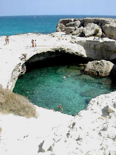 La Grotta della Poesia Hotel Relais Oasi di Roca, San Foca