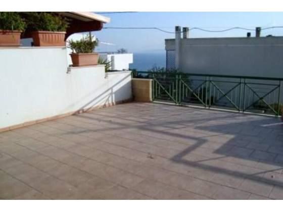 terrazza vista mare per soggiorni turistici a Castro marina nel Salento