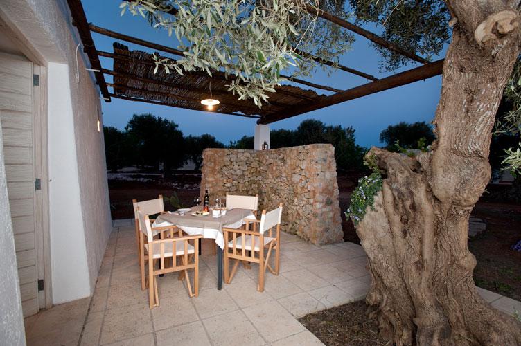 La Sera al Resort I Mulicchi Specchia, Lecce