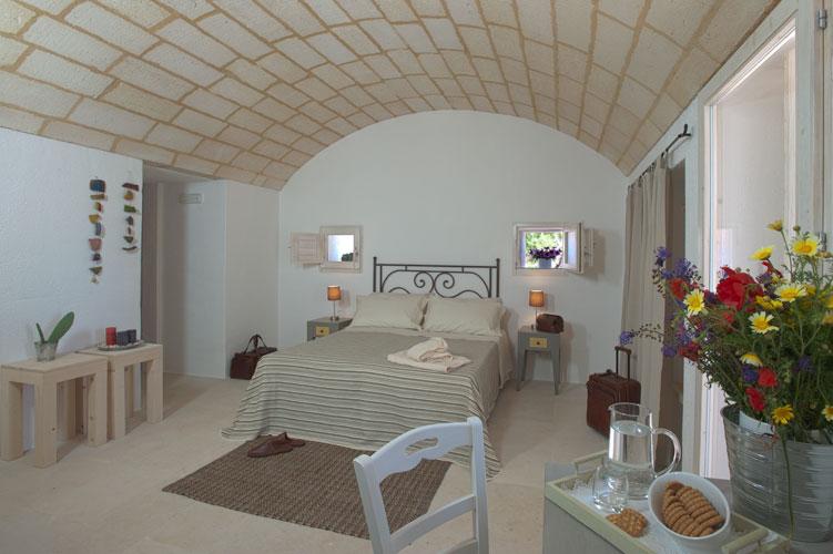 Camera con volta a botte Resort I Mulicchi Specchia, Lecce
