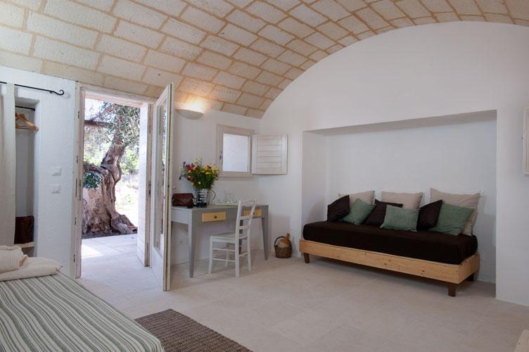 Particolare della camera Resort I Mulicchi Specchia, Lecce