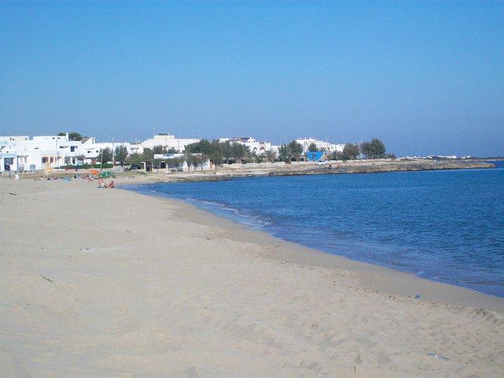 spiaggia di Lido Marini (costa di Ugento)