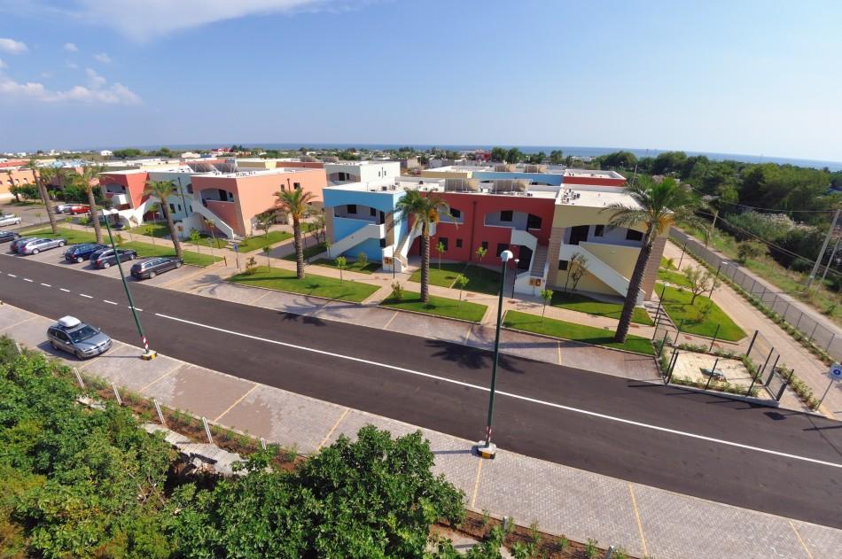 Ubicazione villaggio Punta Grossa Porto Cesareo