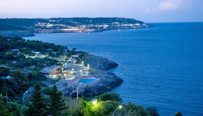 Panoramica Castro Marina, Lecce