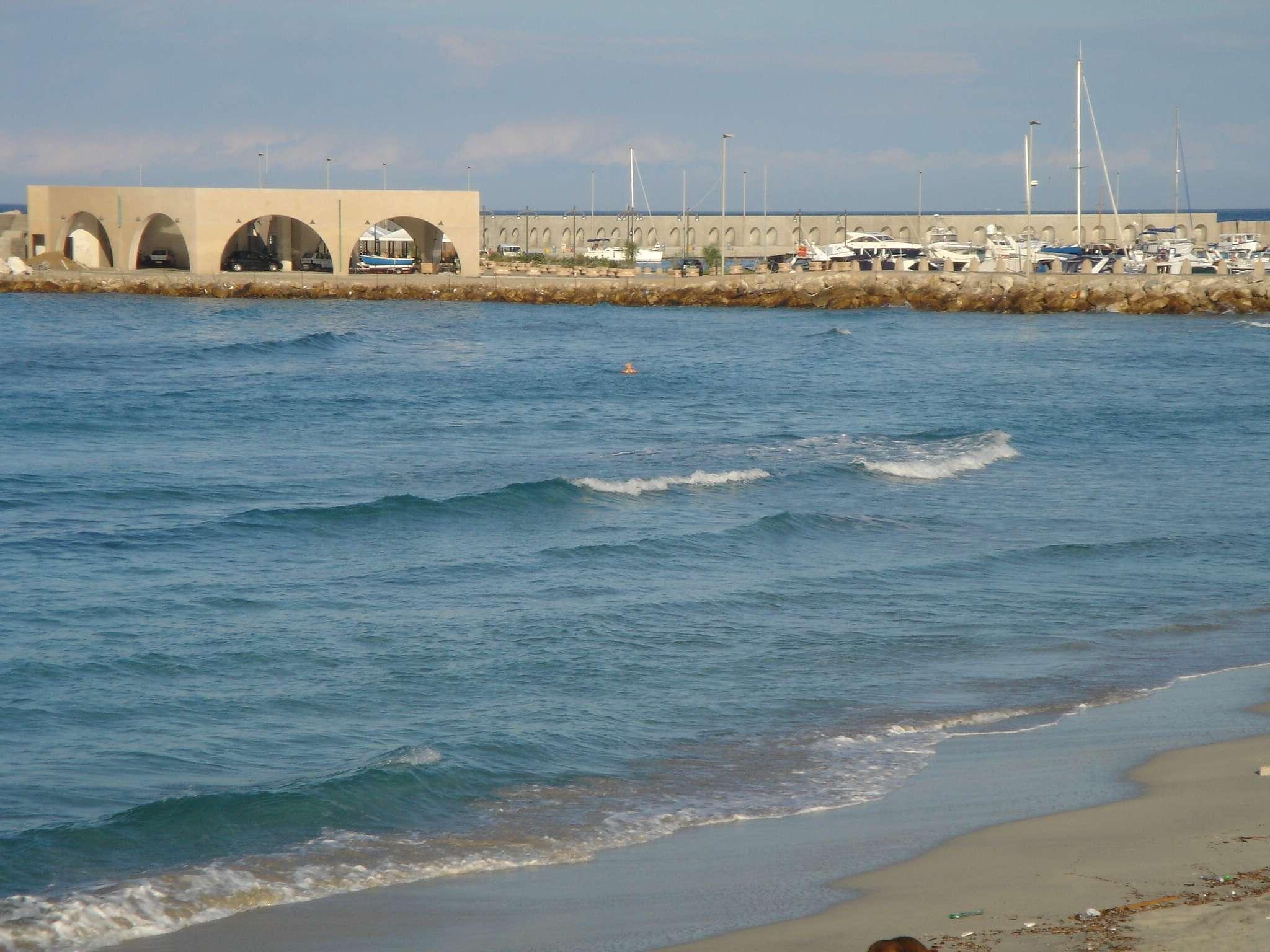 Scorcio del porto San Foca, Lecce