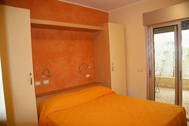 Camera del Residence Solaris a Torre Specchia, marina di Melendugno (Puglia)