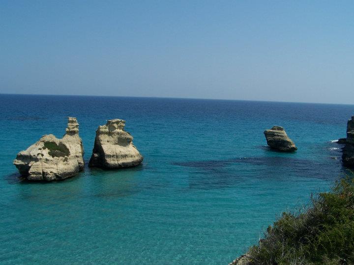 Mare adriatico delle marine di Melendugno (Salento)