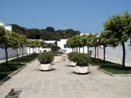 Viali degli appartamenti del Villaggio Conca Specchiulla Otranto