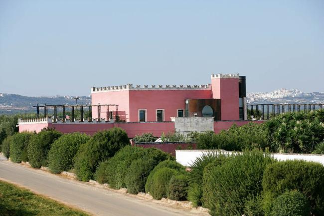 Esterno masseria Santa Lucia Ostuni