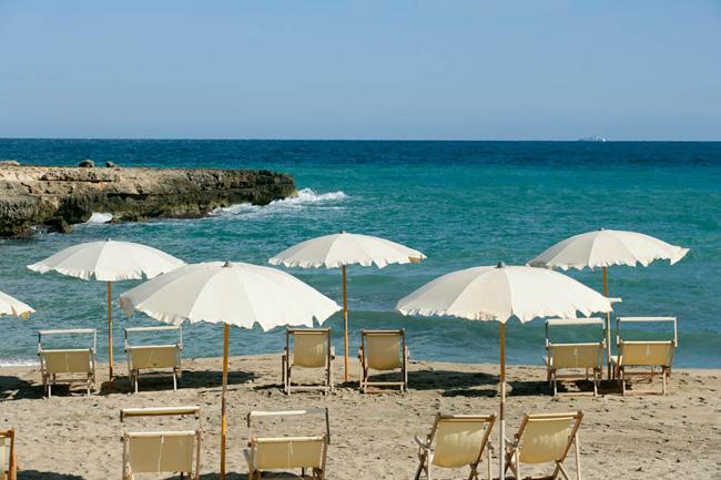 Spiaggia Privata Masseria Santa Lucia Ostuni