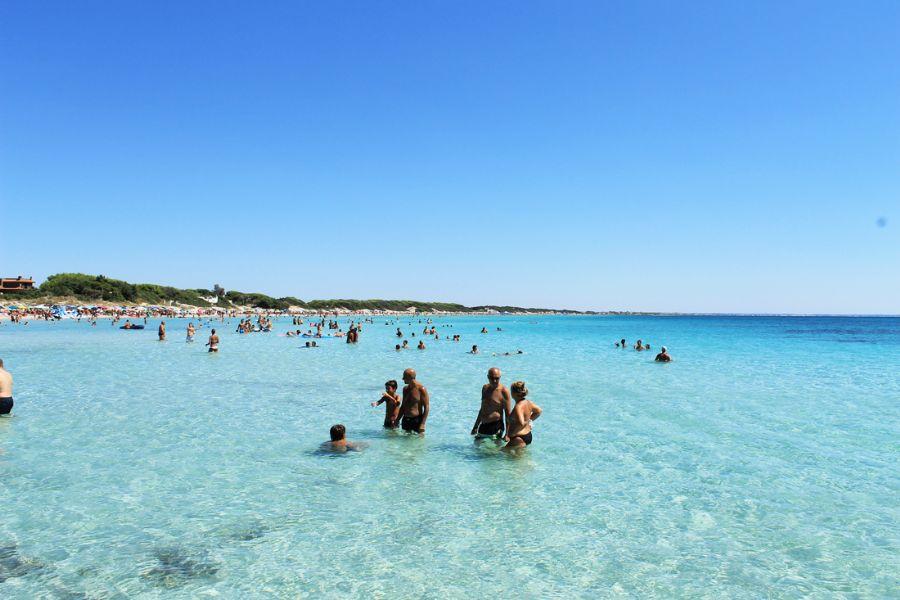 Mare cristallino a Porto Cesareo, Lecce