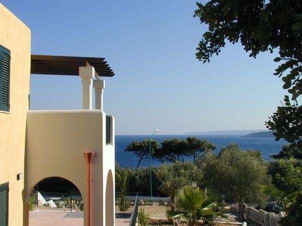 Vista Mare dagli appartamenti in affitto di Santa Cesarea Terme in Puglia