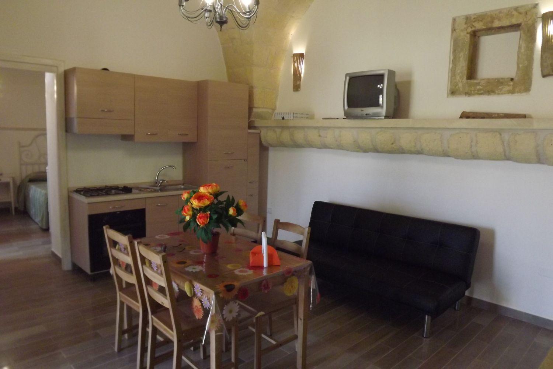 Soggiorno appartamento Verde Le Cinque Dimore Poggiardo, Lecce